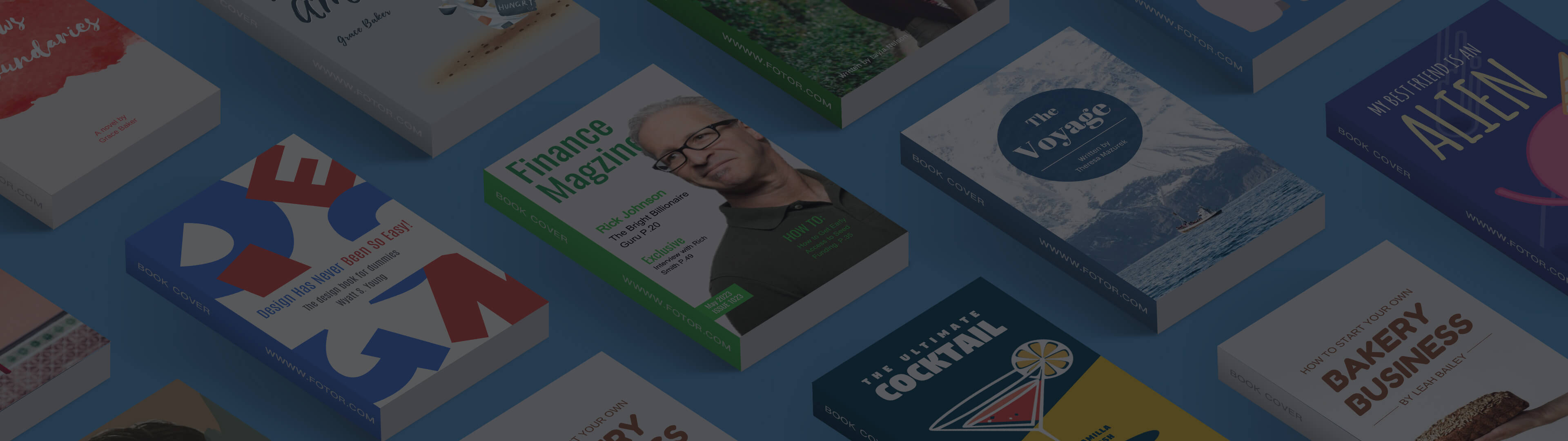 How to Make a Book Cover with Book Cover Creator   Fotor