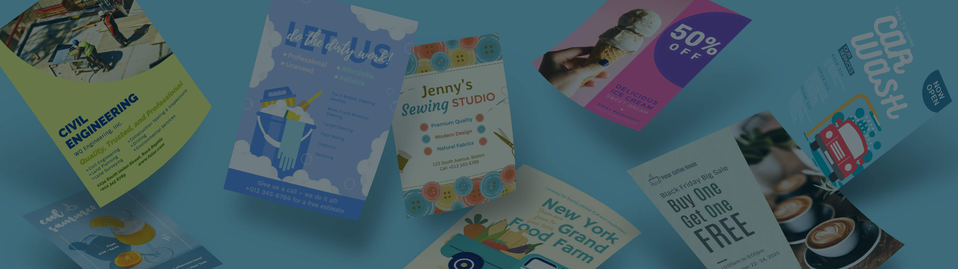 How to Make a Flyer with Free Flyer Maker Online | Fotor