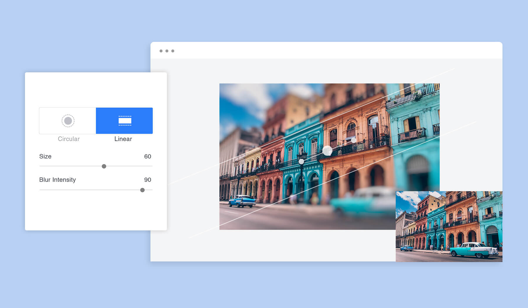 How To Blur Background Online With Photo Background Editor