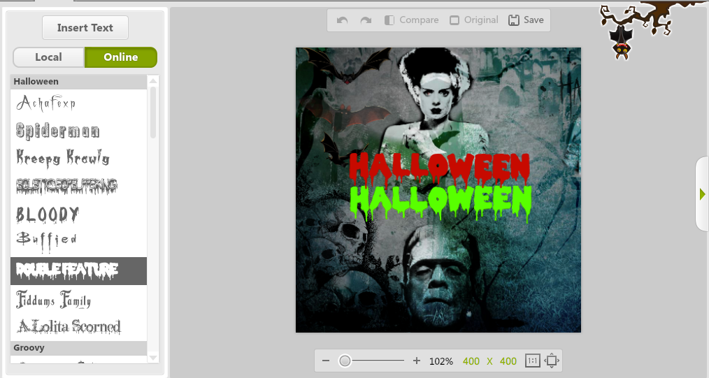 New Halloween Fonts
