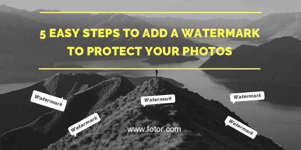 how to add a watermark