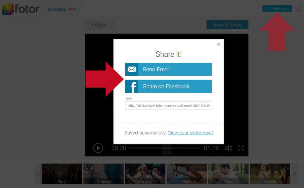 share slideshow
