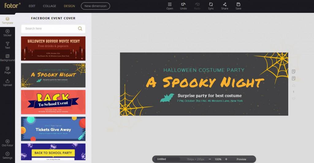 Facebook event cover screenshot