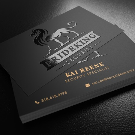 logo business card