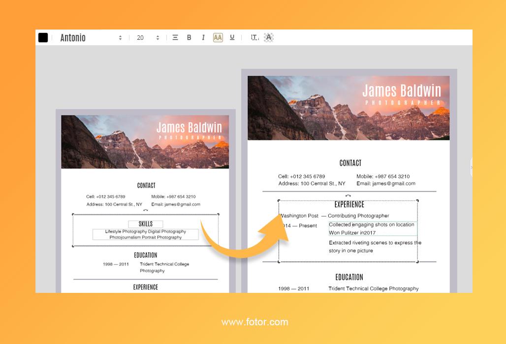 resume design 3