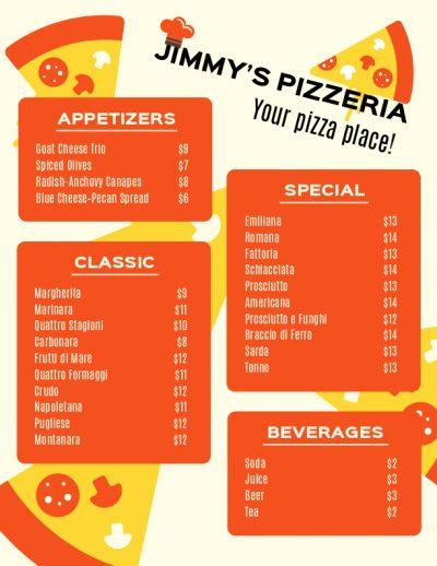 menu design 2