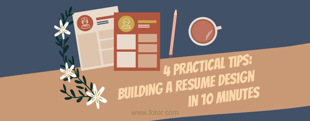 resume design tips