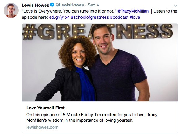Lewis Howes Twitter