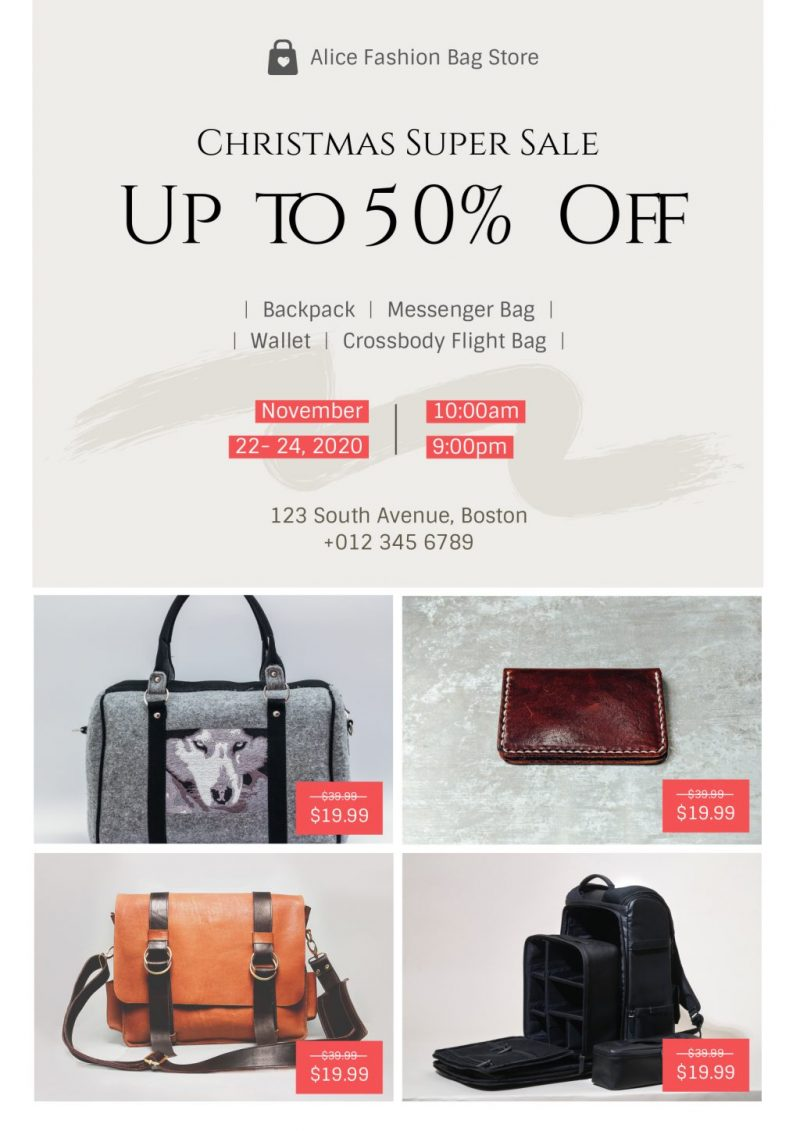 Christmas Bag Super Sale