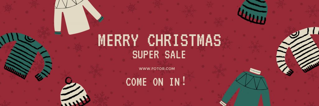Christmas Clothes Super Sales