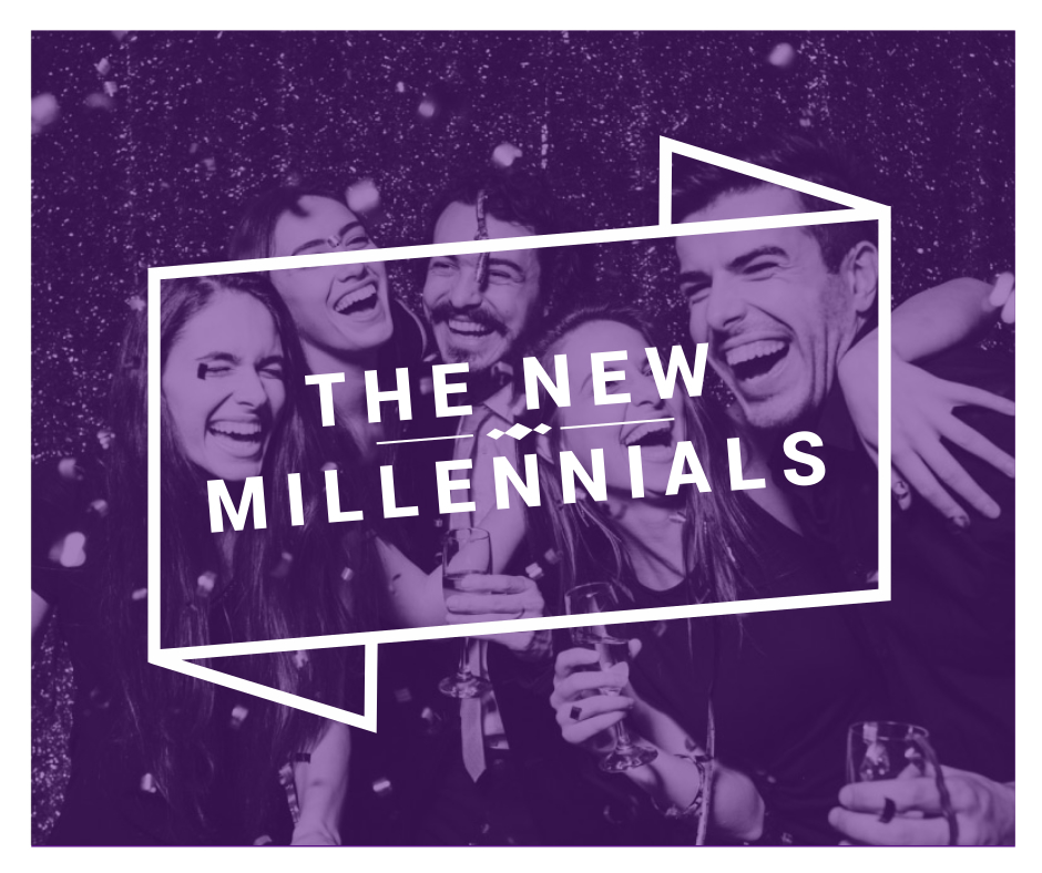 the New Millennials graphic design