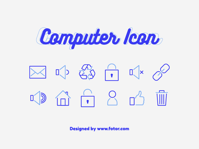 Functional Icons design trends