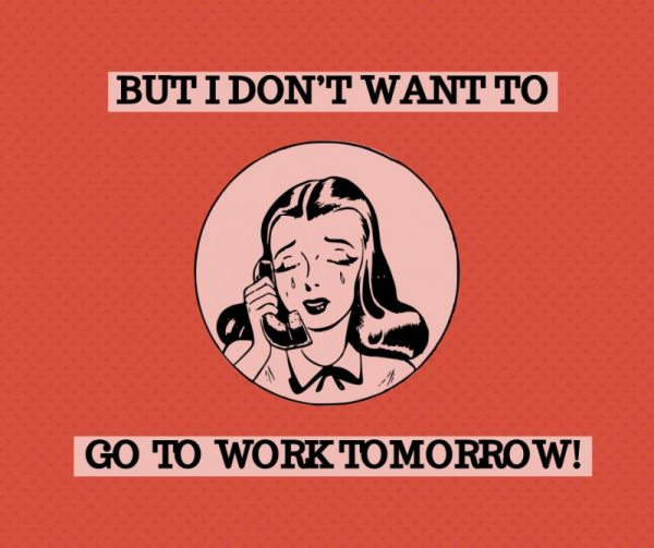 sad Monday Facebook post template