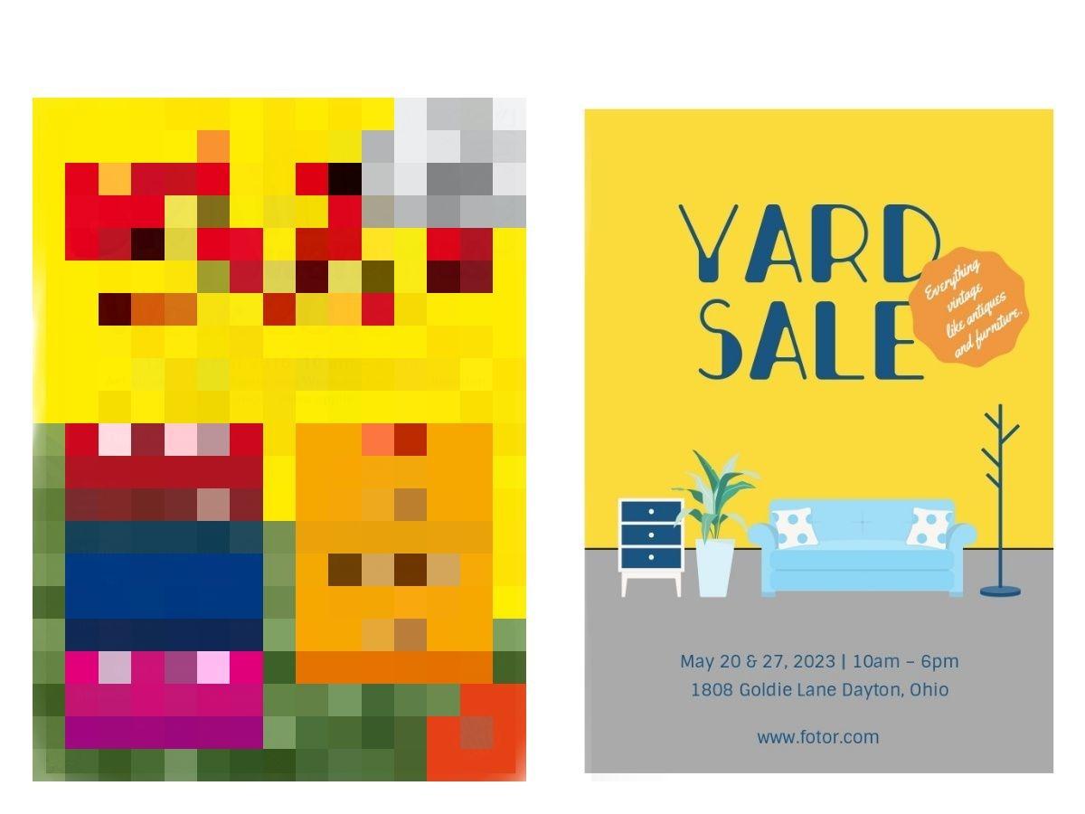yard sale mosaic (1)
