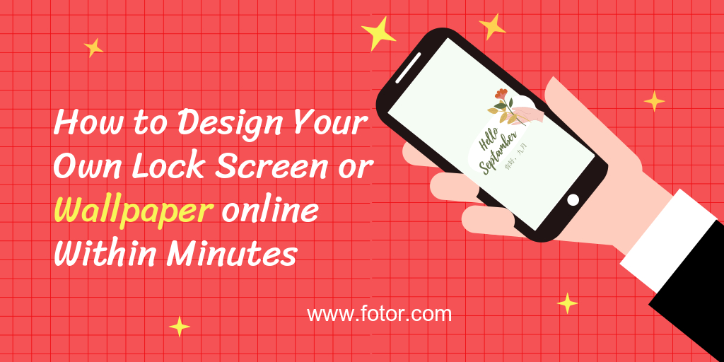 how to design your mobile wallpaper