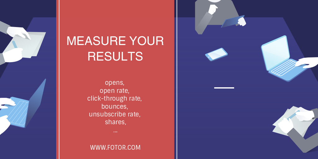 measure your email marketing results