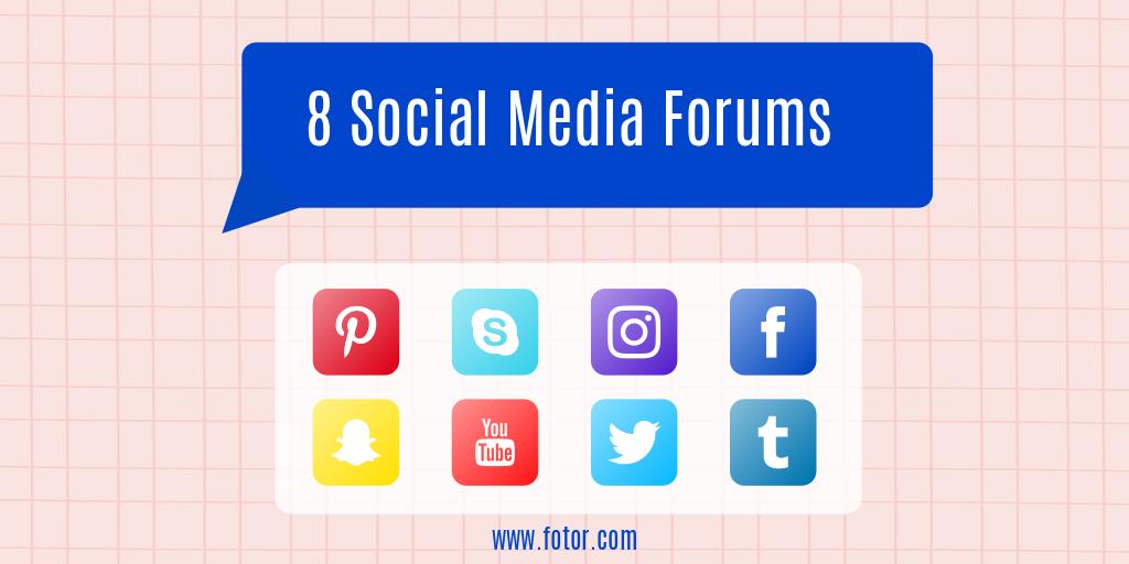 social media forum