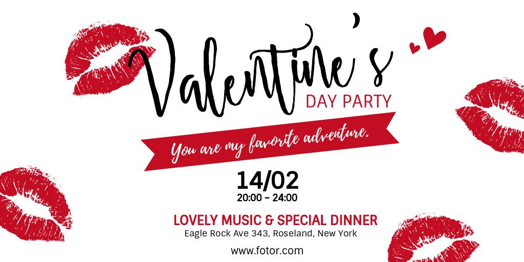 valentine day party invitation