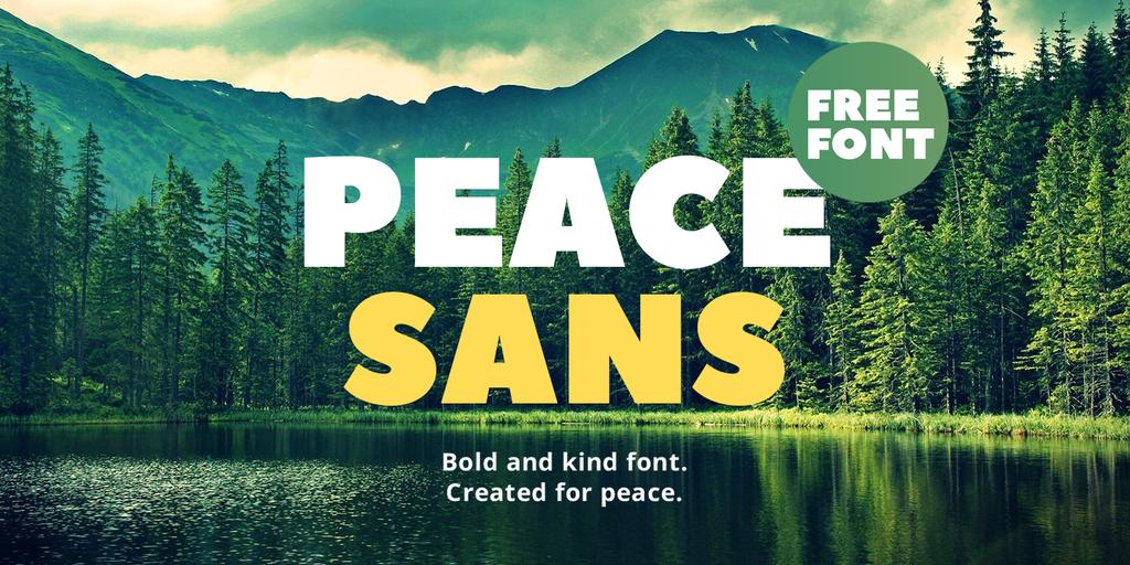 peace-sans-font
