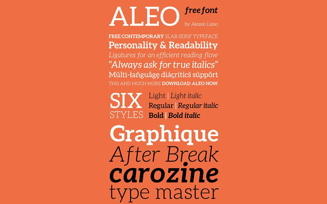 Aleo-Font-Style