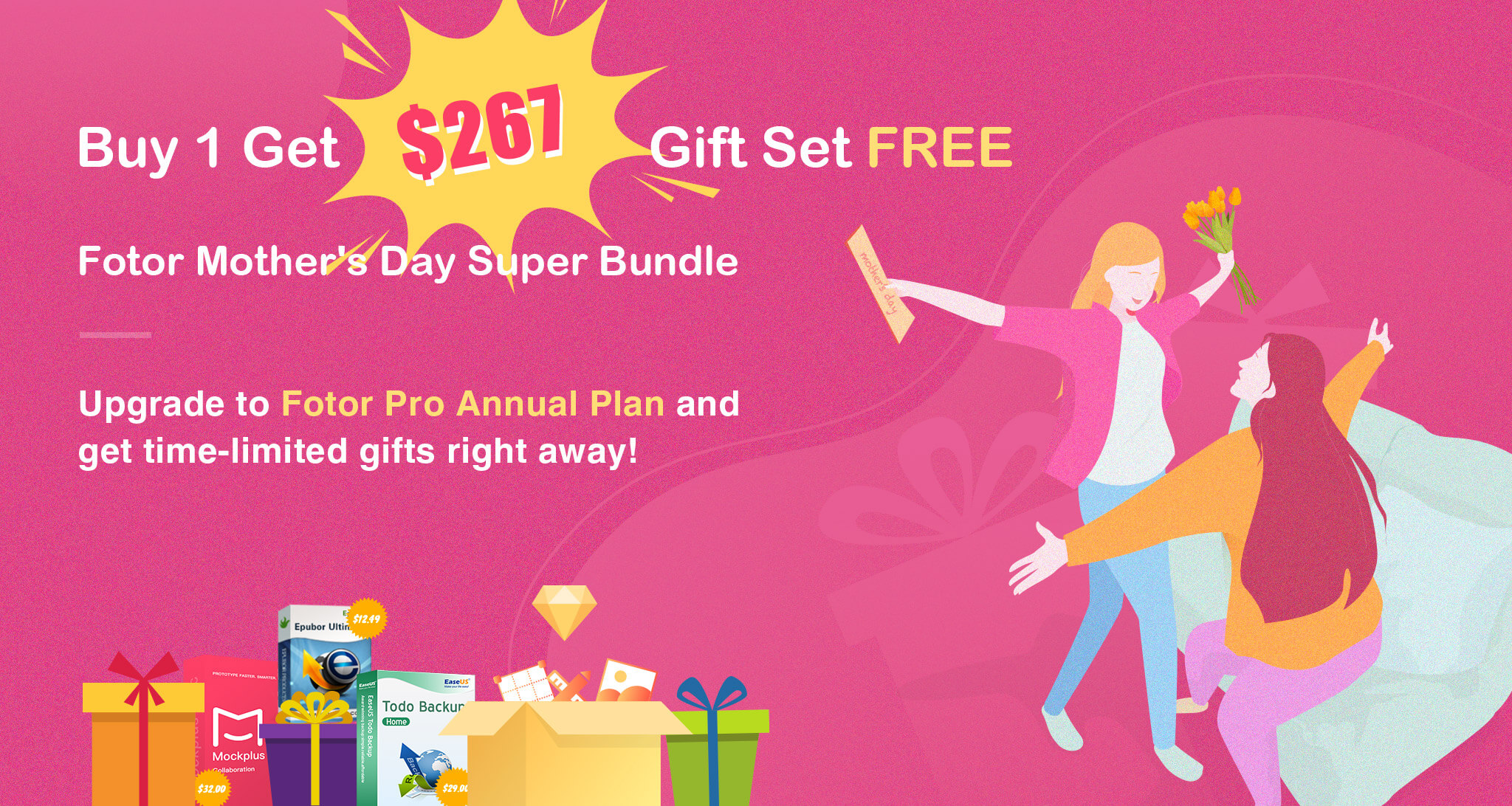 Fotor Mother's Day Super Bundle