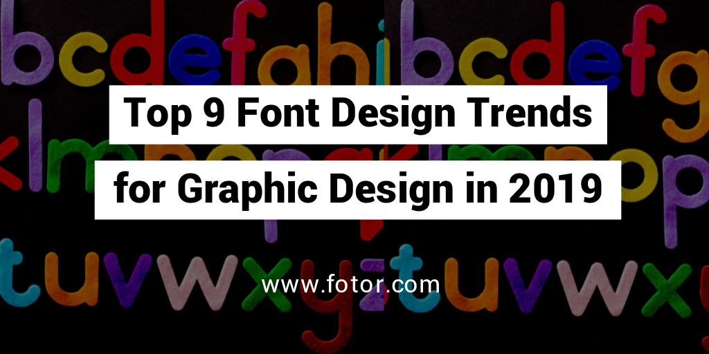 font design trends for graphic design twitter post