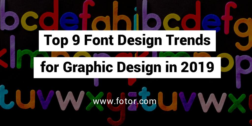 font design trends for graphic design twitter post