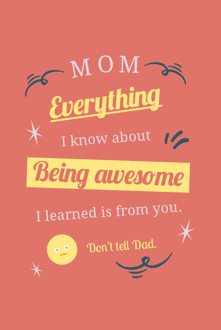 happy mother's day fun quote