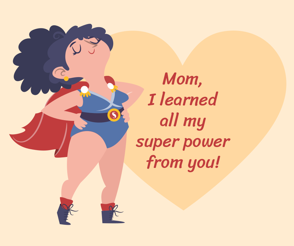 mother's day super woman