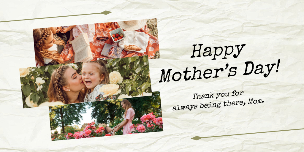 mother's day thank you card