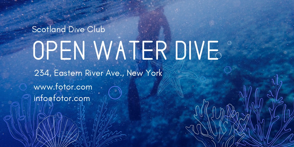 open water dive