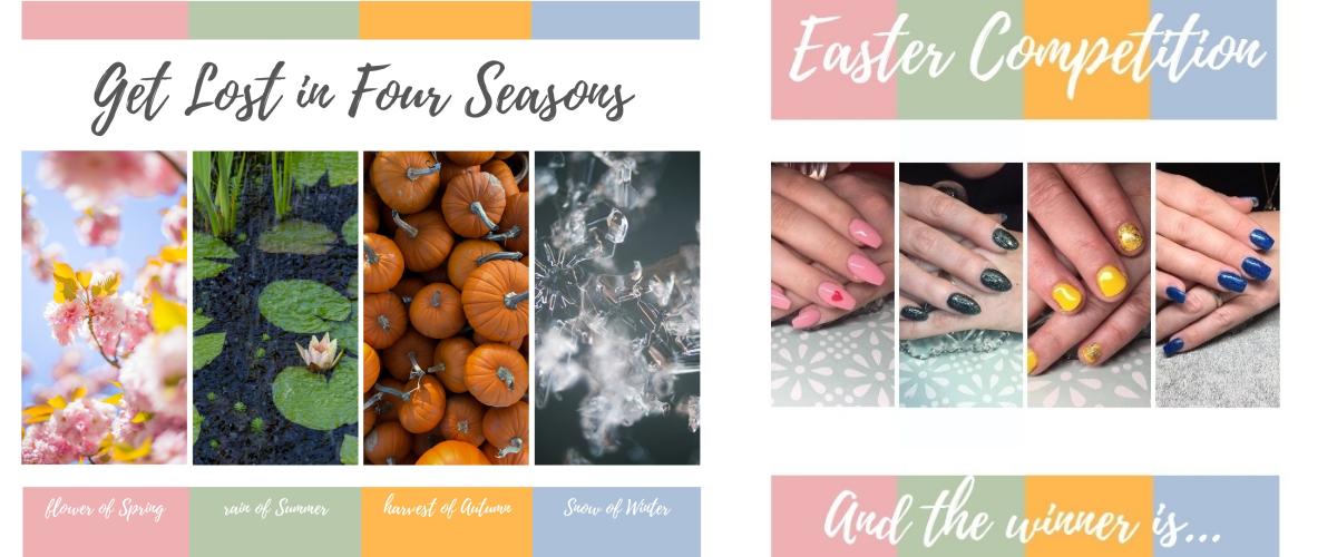 four season collage
