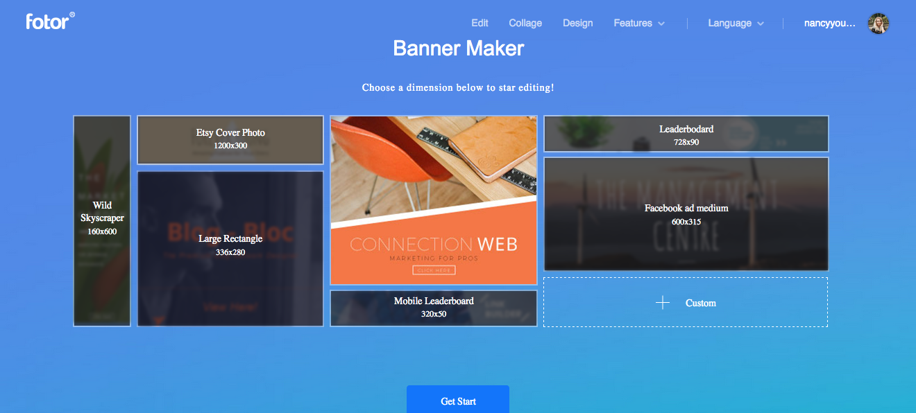 easy to use banner maker