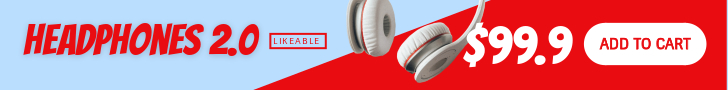 headphone banner ads