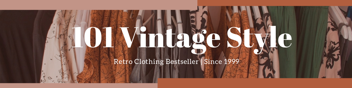 Retro Clothing Etsy Shop Banner Template