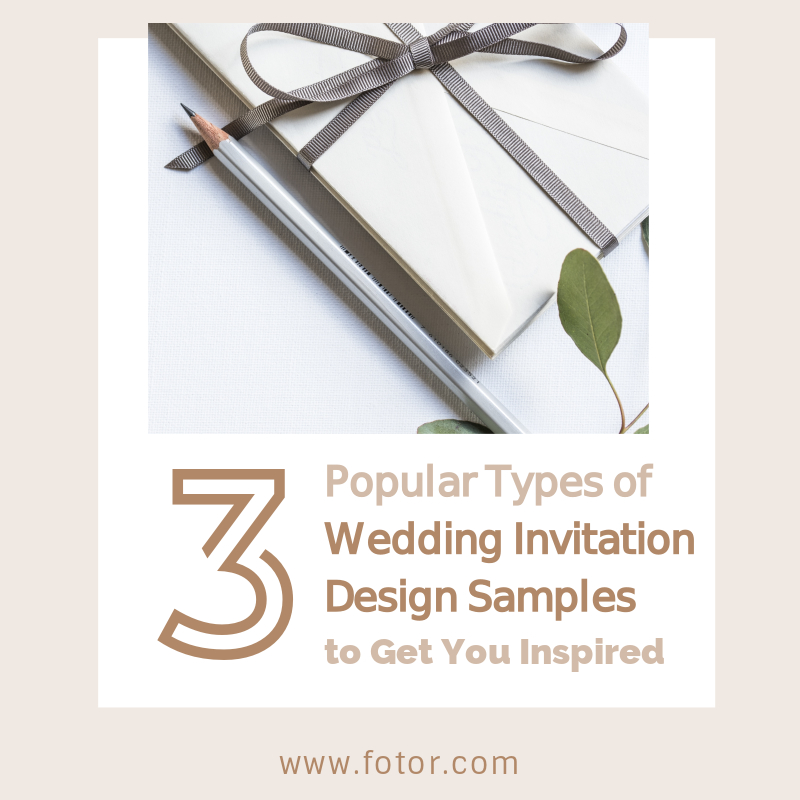 3 Popular Types of Wedding Invitation Design Samples to Get You ...