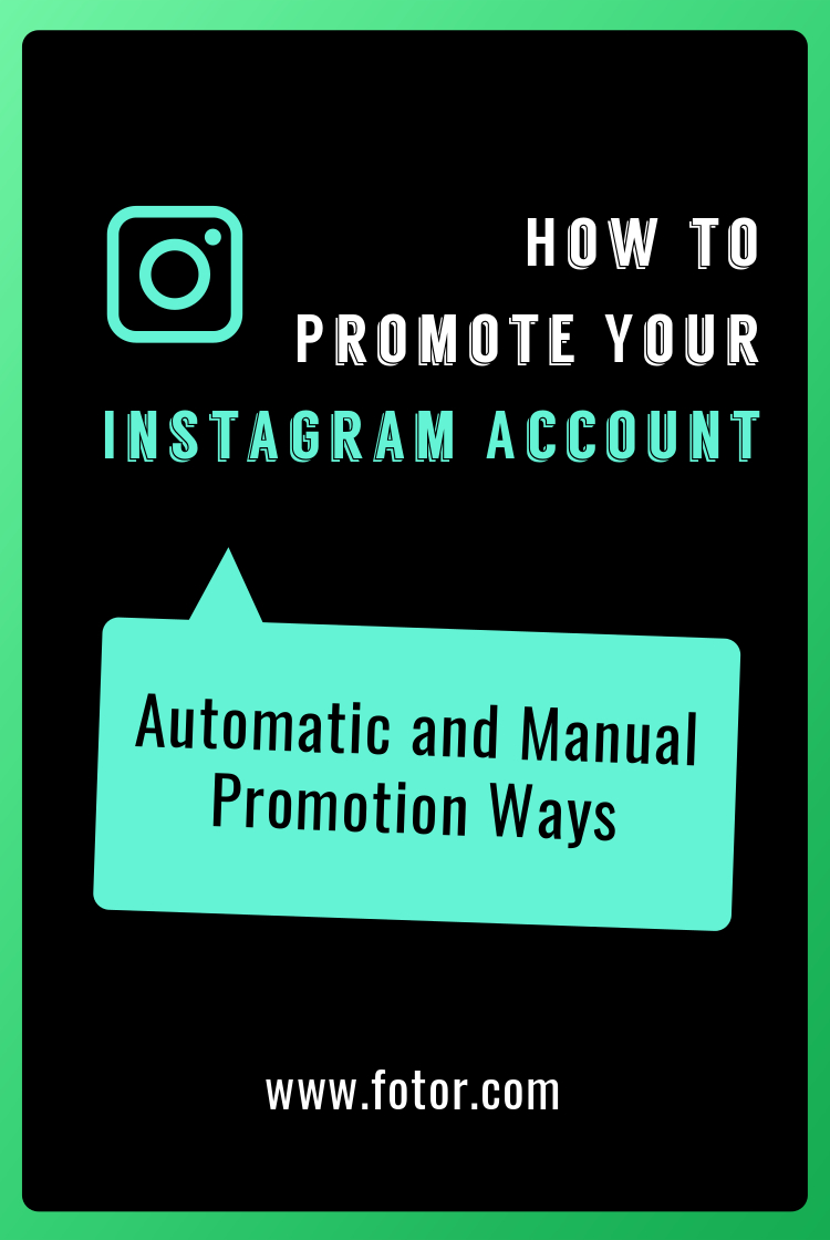 pin how to promote your instagram account