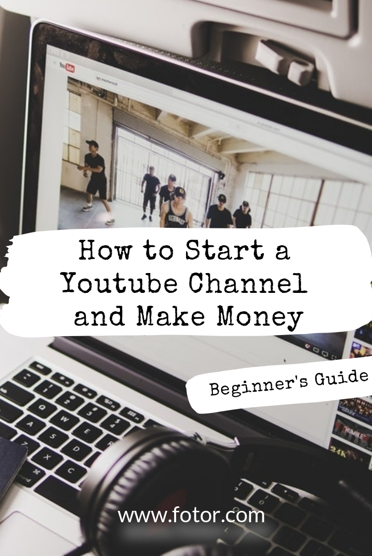 pin how to start a youtube channel