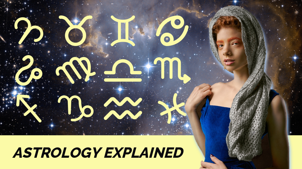 10.Astrology explained YouTube thumbnail template