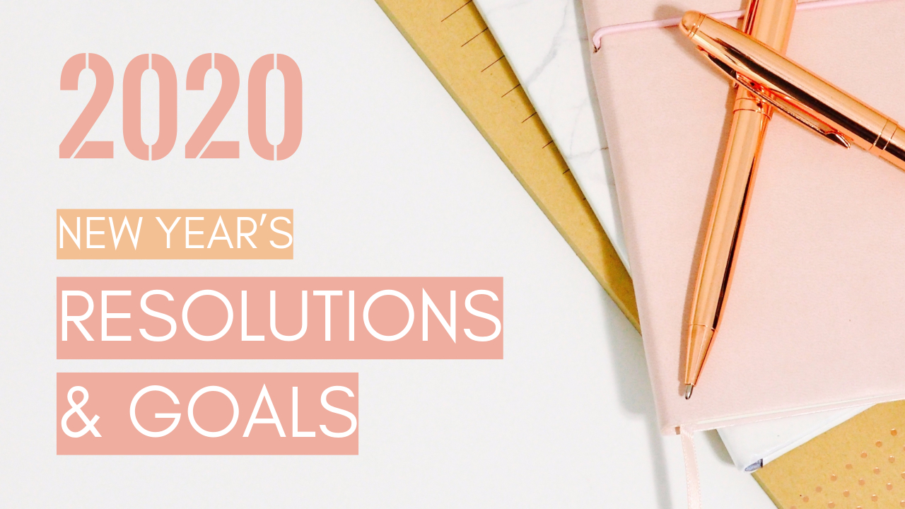 11.New year's resolutions & goals YouTube thumbnail template