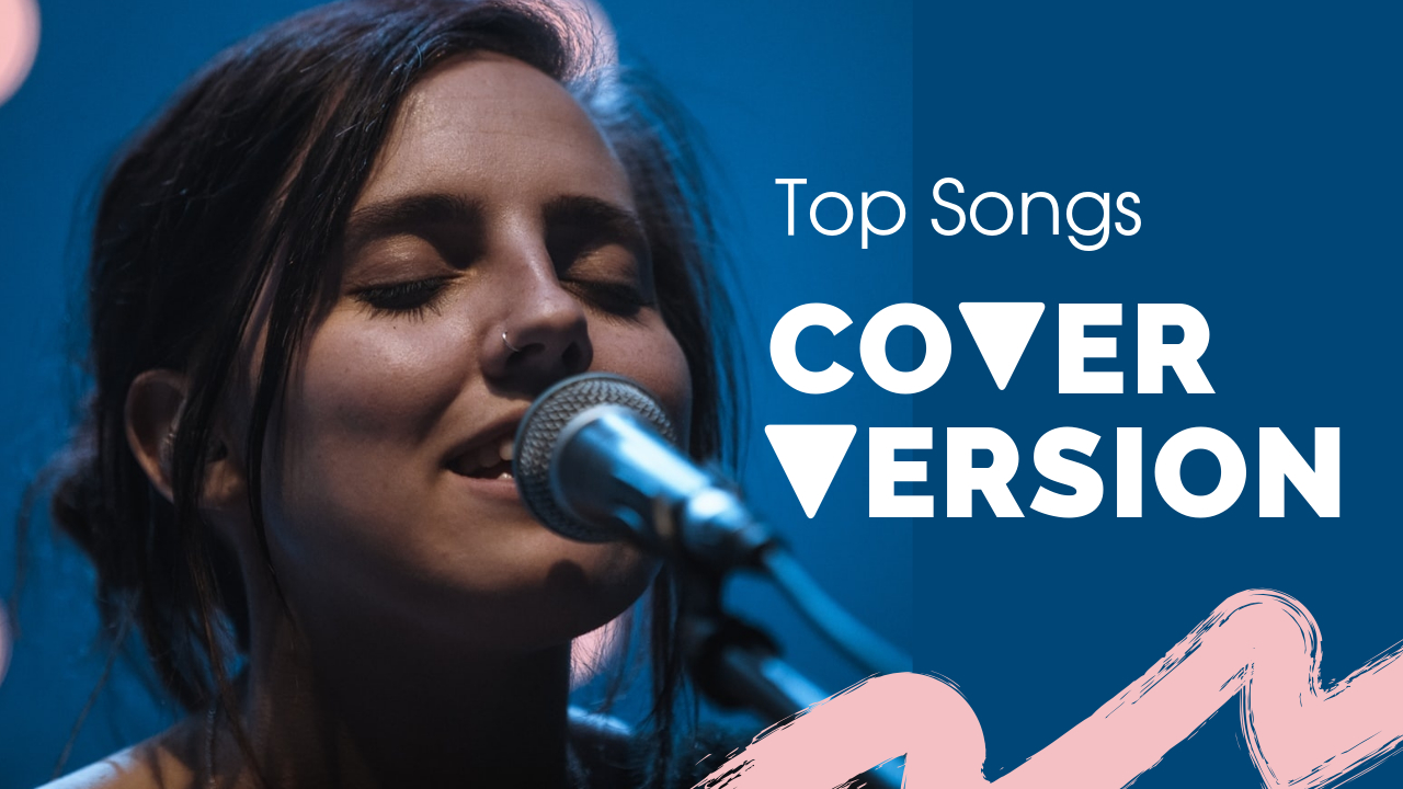 18.Top song cover version YouTube thumbnail template