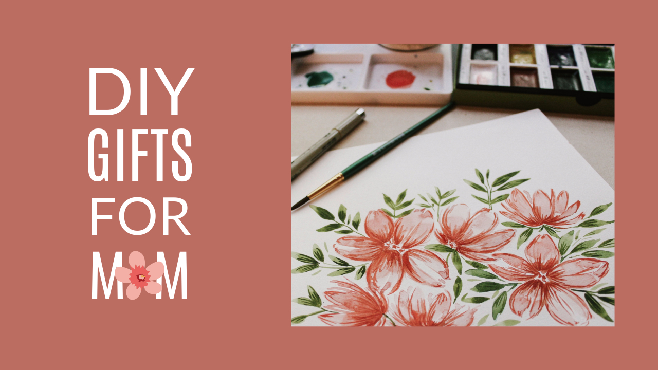 19.DIY gifts for mom YouTube thumbnail template