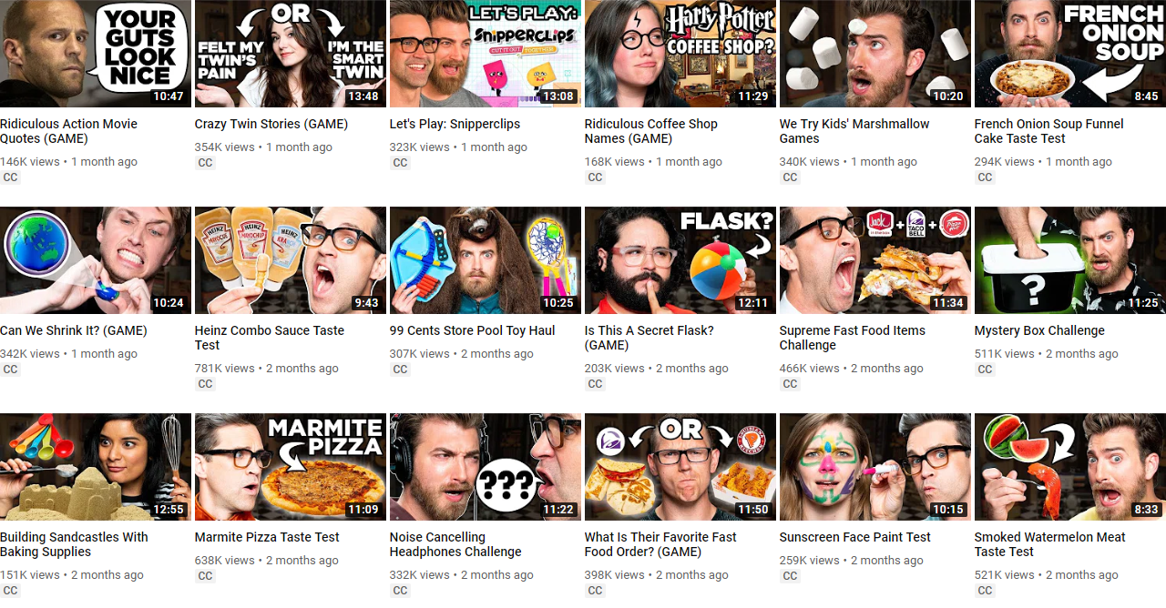 20.YouTube video thumbnail covers