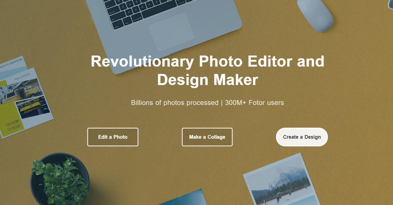 22.Fotor online photo editor and design maker