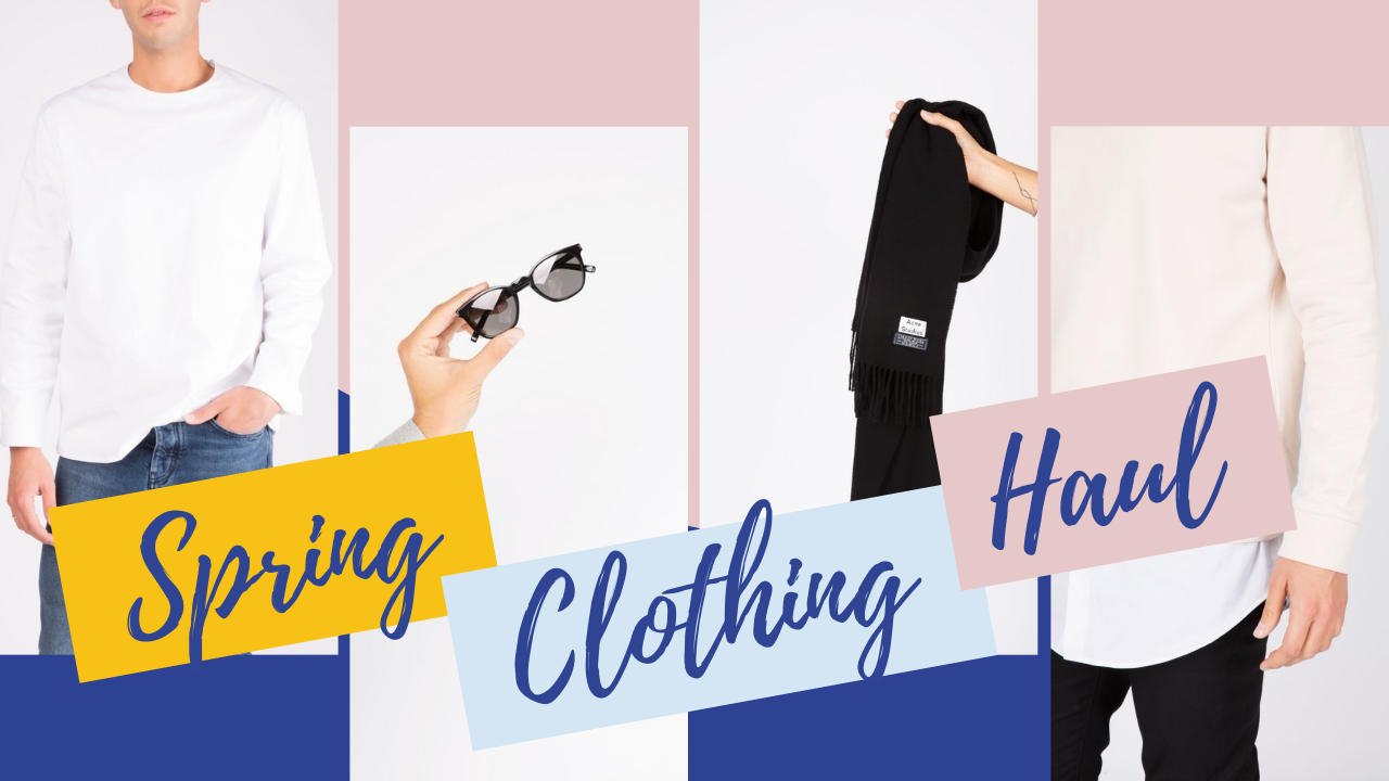 7.Spring clothing Sales YouTube thumbnail template