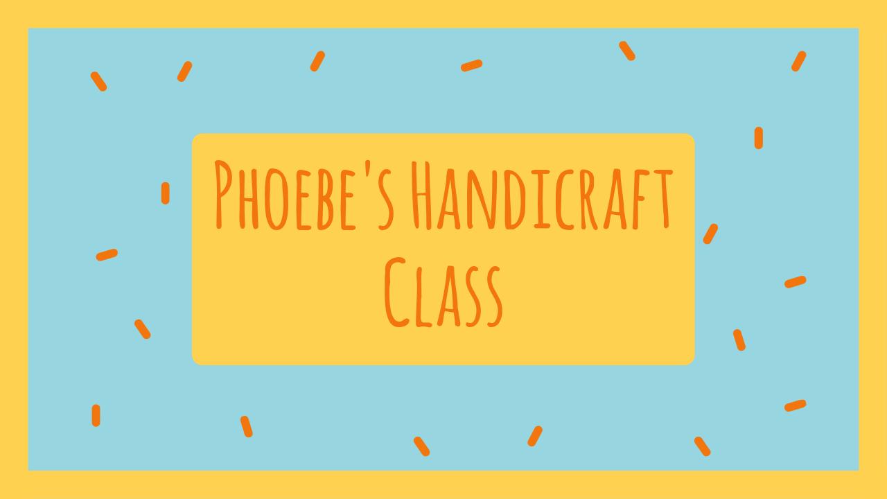 8.Handcraft class YouTube thumbnail template