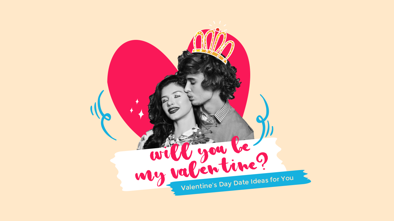 9.Valentine's day date ideas YouTube thumbnail template