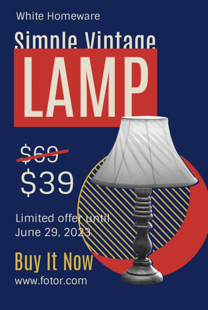 10.vintage lamp promotional ads template