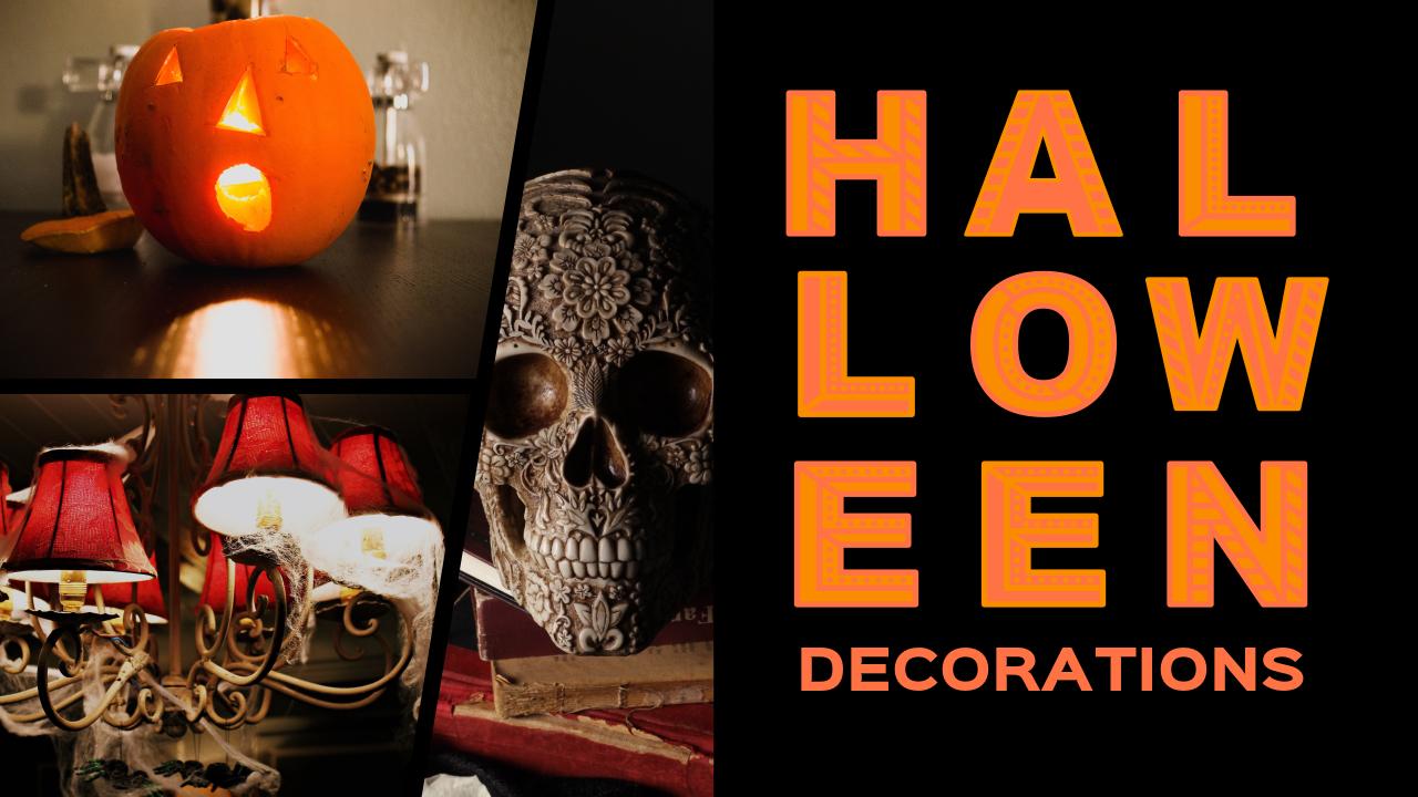 halloween decoration ideas youtube thumbnail