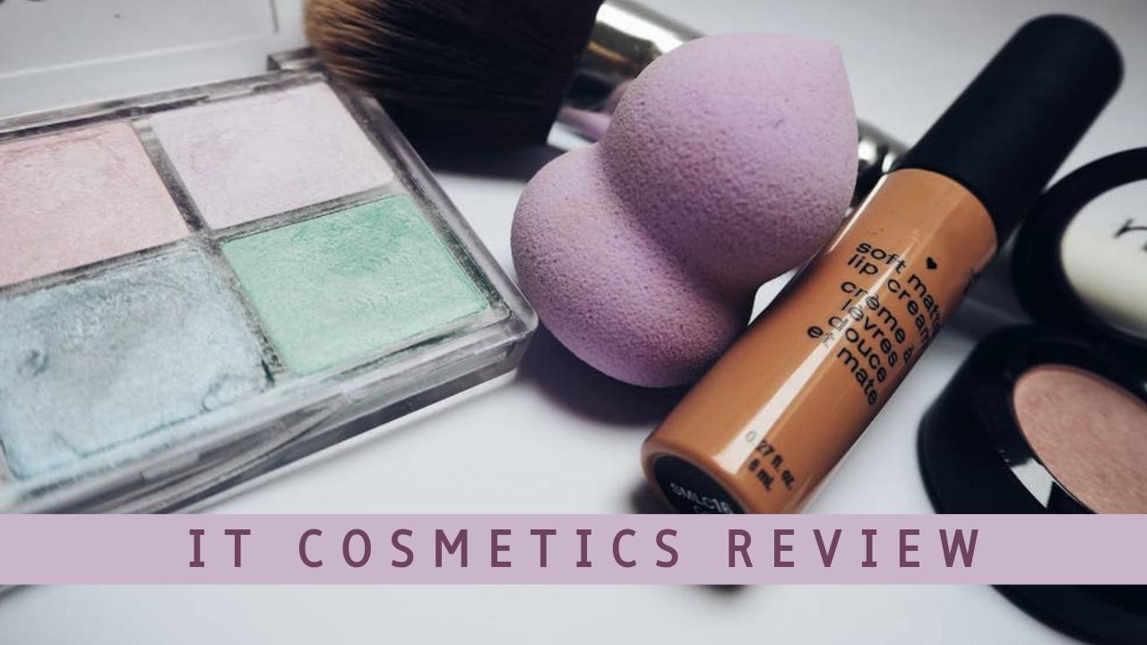 cosmetics review youtube thumbnail